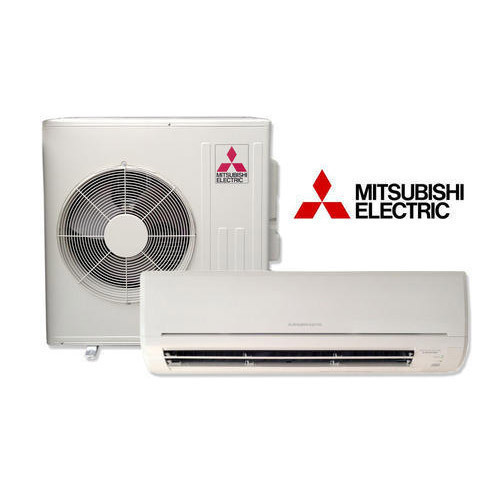 White Mitsubishi Electric Split Air Conditioner