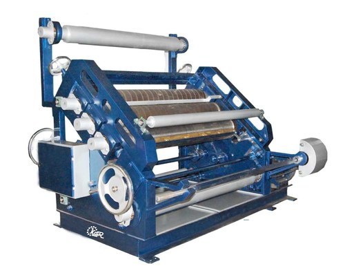Oblique Type Corrugation Box Making Machine