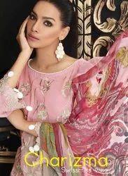 Kaara Suits Charizma Swissmiss Vol 2 Cotton Pakistani Dresses