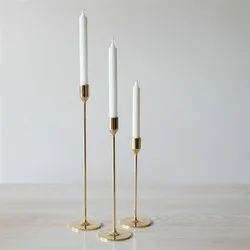 Brass Hotel Candle Holders