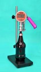 Digital Vacuum Tester for Filled Bottle