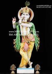 Marble God Radha Krishna Statue