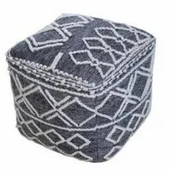 Indian Handmade Best Quality Modern Design High Quality Material Poufs