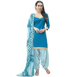 Cotton Fabric Patiala Suit