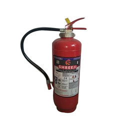 Shreeji Red DCP Fire Extinguisher, Capacity: 1-9 Kg