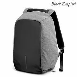 Polyester Zipper Anti Theft Backpack