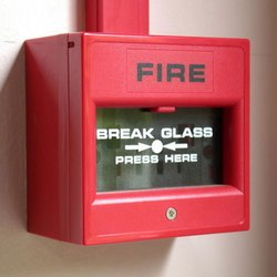 Semi-Automatic Break Glass Fire Alarm System, More Than 110 Db