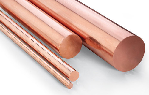 Titanium Round Bar - Copper Round Bars Manufacturer from Mumbai
