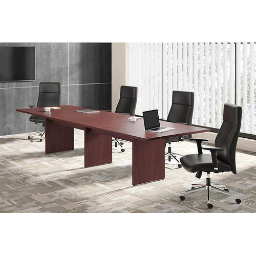 Wooden Rectangular Brown Conference Room Table Size Feet Rs - 8 foot conference room table
