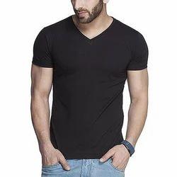 V Neck Half Sleeve T-Shirts