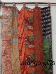 Silk Curtain Drapes