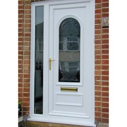 Glossy Hinged Decorative PVC Panel Door for Home