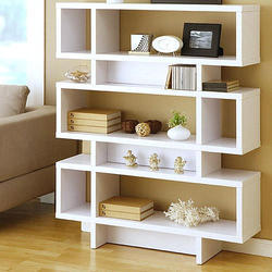White Modern Book Shelve