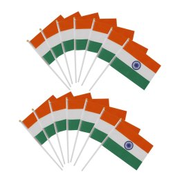 Indian National Hand Flags
