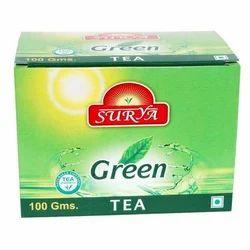 100 Gm Surya Green Tea, Packaging Type: Packet