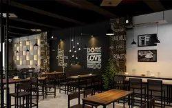 Cafe Interior Design, Location: Pune
