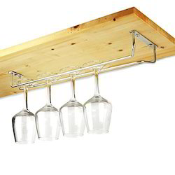 SS Wine Glass Holder Rail