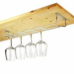 SS Wine Glass Holder Rail