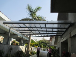 Kitchen Back Yard Polycarbonate Roof Sheet