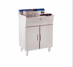 Floor Model Gas Deep Fryer Double Tank ( Standing Model )