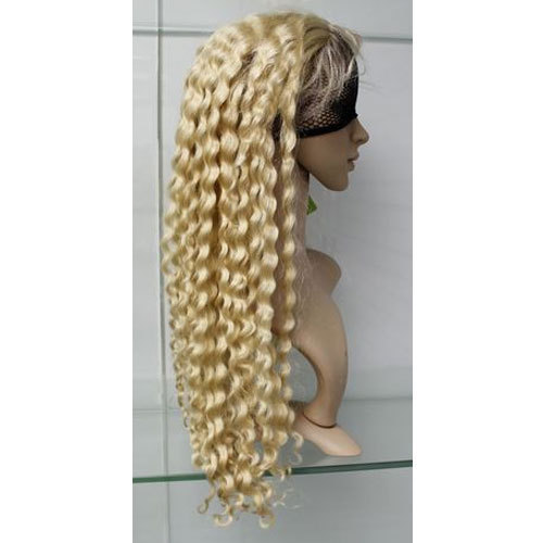 JANGRA Women Blonde Curly Wig c12eaffd47
