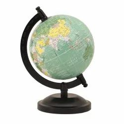 Teal Educational/ Decorative Geography Rotating Earth Globe