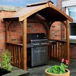 Wooden Gazebo Shelter