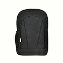Polyester Black Laptop Backpack Bag