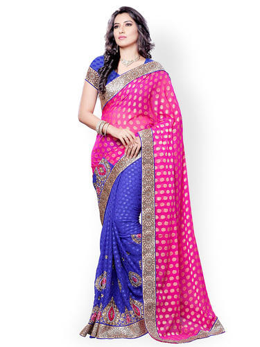 cde537dcaa Casual Wear Indian Ladies Saree, With Blouse Piece, Rs 2100 /piece ...