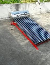 Low Height solar water heater