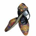 Ladies Embroidery Heel Slipper, Size: 7 - 12