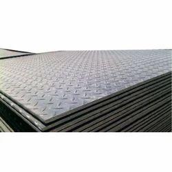 Mild Steel Rectangular Chequered Plates