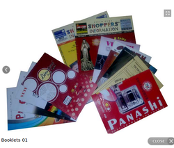 Paper Centre Pin Booklet Designing Printing Services, Size: A5, Location: Pan India