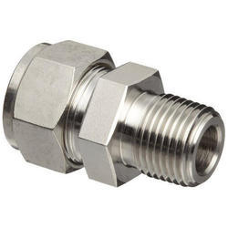Stainless Steel Pipe Threaded Connector with Ferrule Fittings