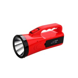Plastic White Tuscan TSC-5714 LED Torch, Capacity: 800 mAh, Battery Type: Lithium Ion