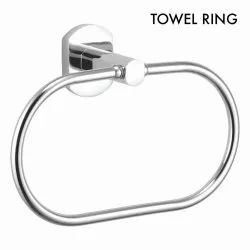 Chrome Plated Brass Towel Ring