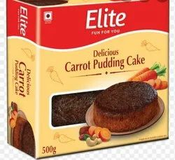 Carrot Pudding Cake, 500 Gm Box Packaging, Weight: 500GM