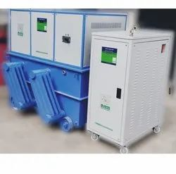 Servo Voltage Stabilizer for Water Plant