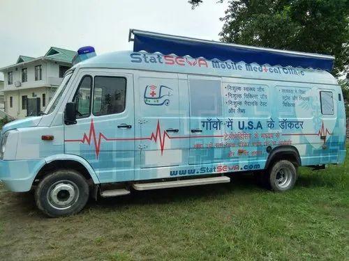 Force Tele Medicine Van