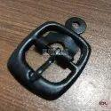 20mm Mild Steel Square Buckles Black