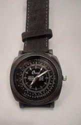 Men Round Designer Wrist Watch