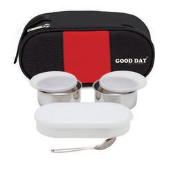 Goodday All Humsafar Lunch Box, Capacity: 3 Pc Tiffin Set