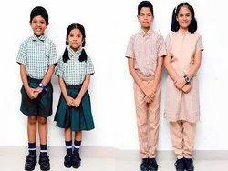 Summer Cotton Government School Dress