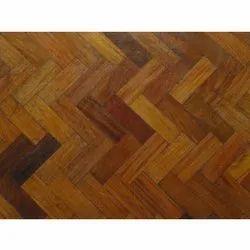 Matte Designer Wooden Flooring, Thickness: 5-10 Mm