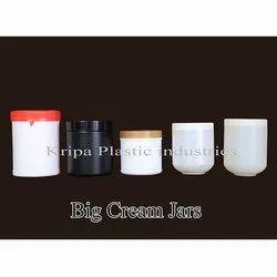 Big Cream Jars