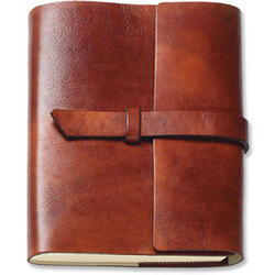 Refillable Leather Cover Journal