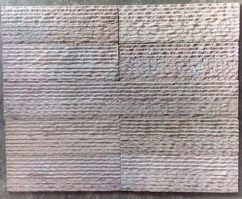 Wall Panels Pink Marble Ripple Tiles Manufacturer From