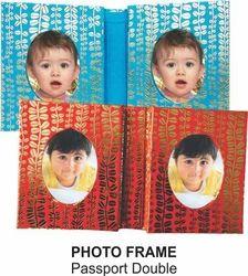 Photo Frame Passport Double