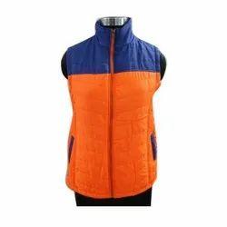 Sleeveless Quilted Jacket Ladies Designer Jacket, Size: S-XL