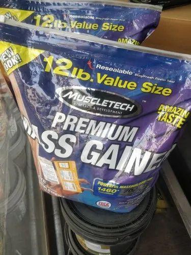 Weight Gainer Muscletech Premium Mass Gainer, 12 lb ,Packaging Type: Zipper Seal